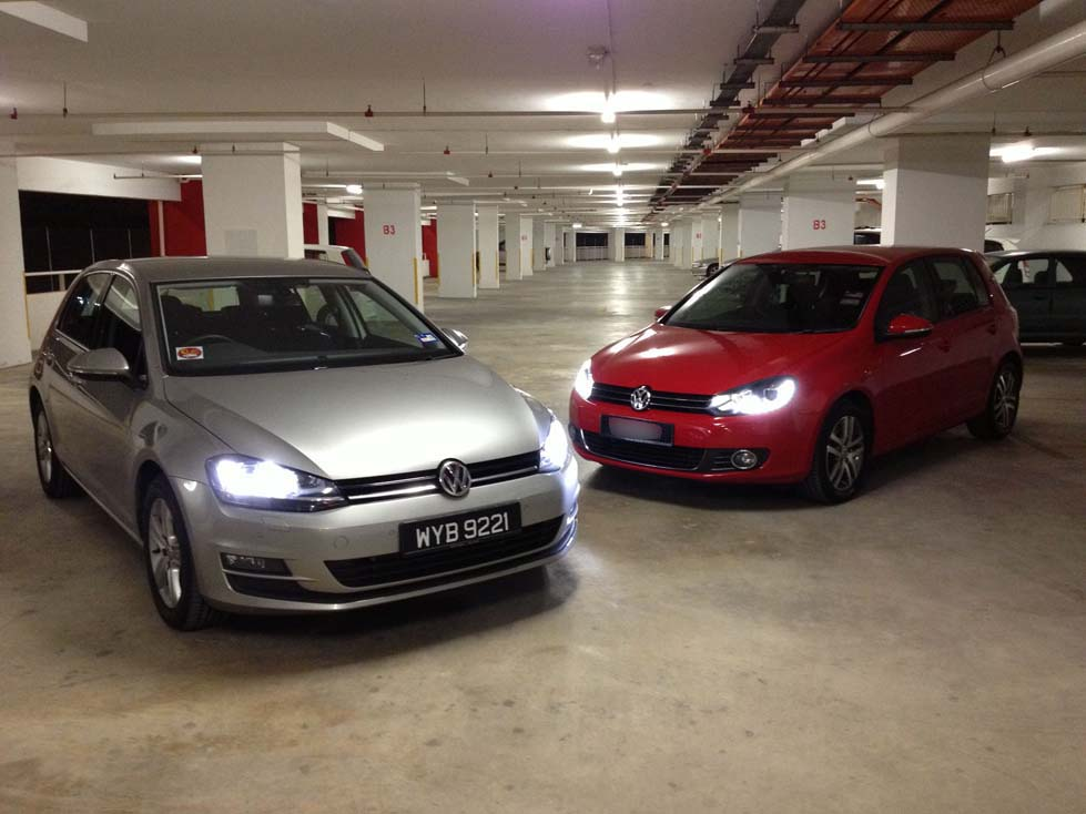 the vw golf 1.4tsi mk vii - how does it stack up against mk vi
