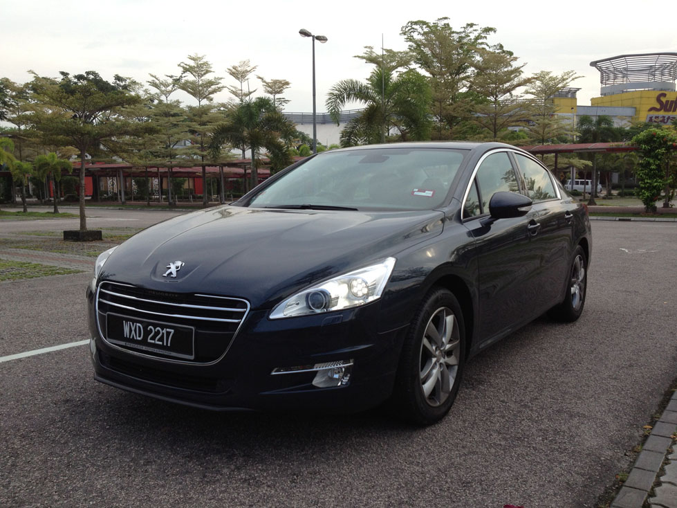 The Peugeot 508 Quality Time Kensomuse
