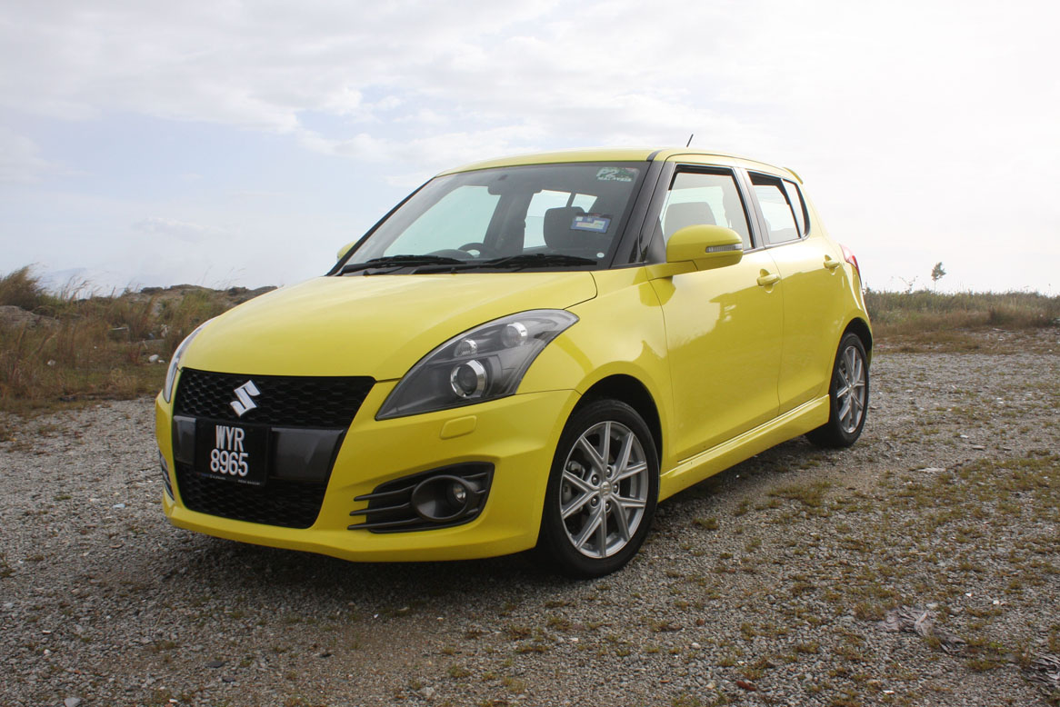 the suzuki swift sport the most affordable fun pocket. Black Bedroom Furniture Sets. Home Design Ideas