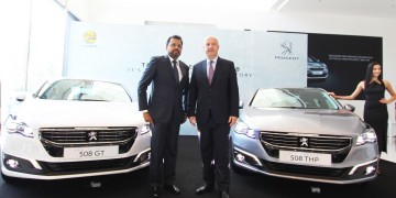New Peugeot 508 Launch 1