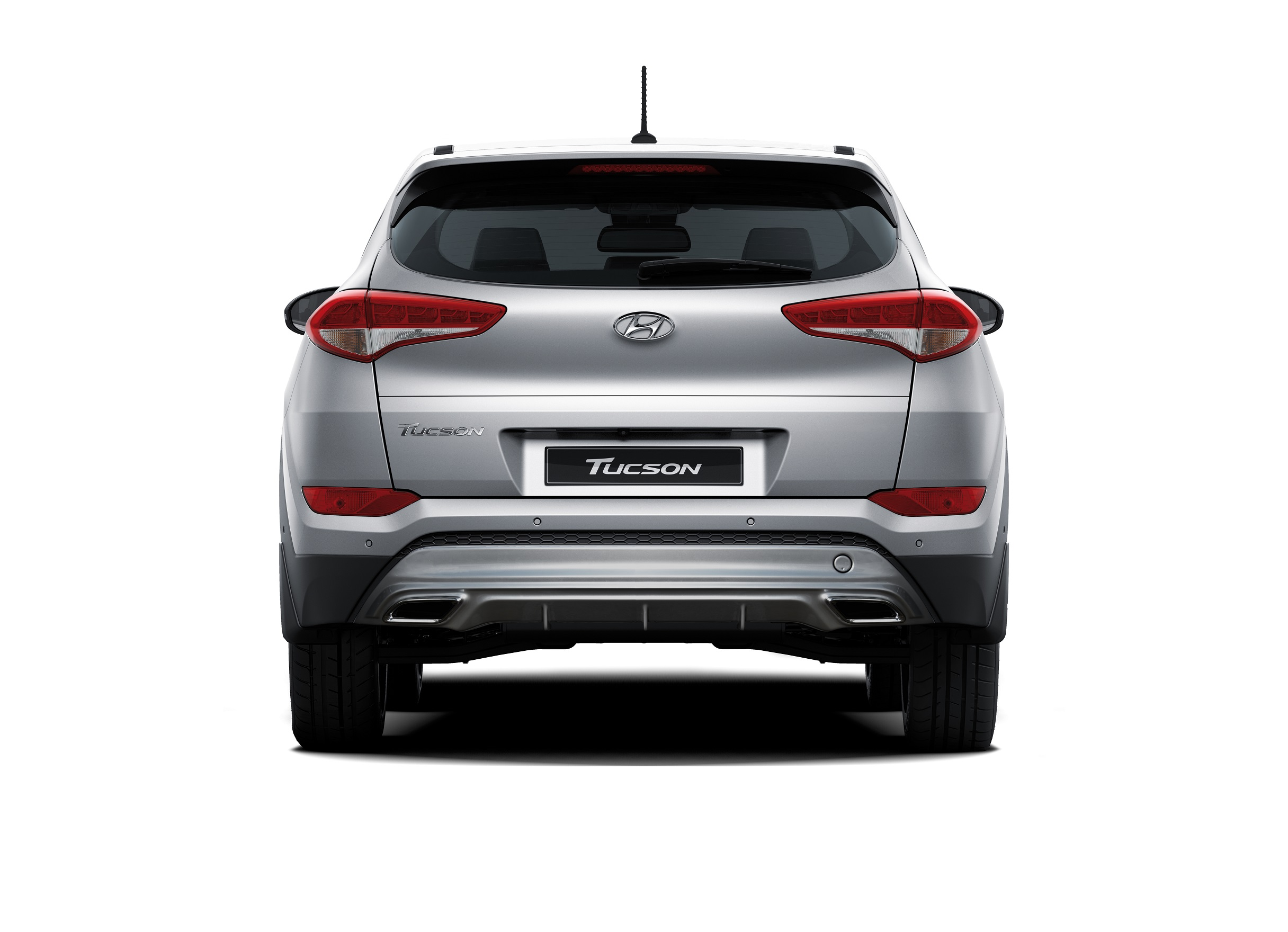 TUCSON 2016 - REAR VIEW (WITHOUT ROOF RACK)