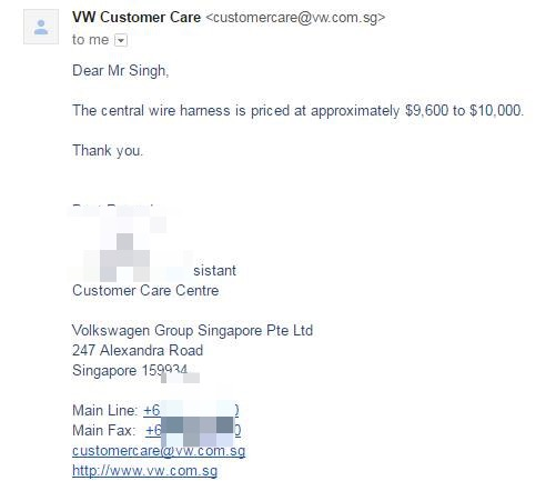 IMG_5459 rm52k just to replace volkswagen wiring harness? why it costs so perfect wire harness sdn bhd at bayanpartner.co