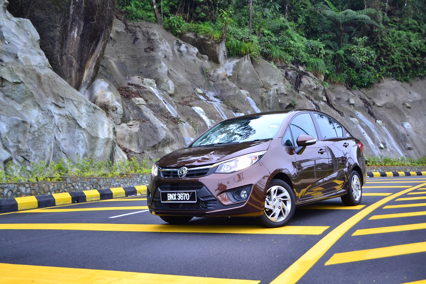 The all-new Proton Persona - Test Drive Review - kensomuse