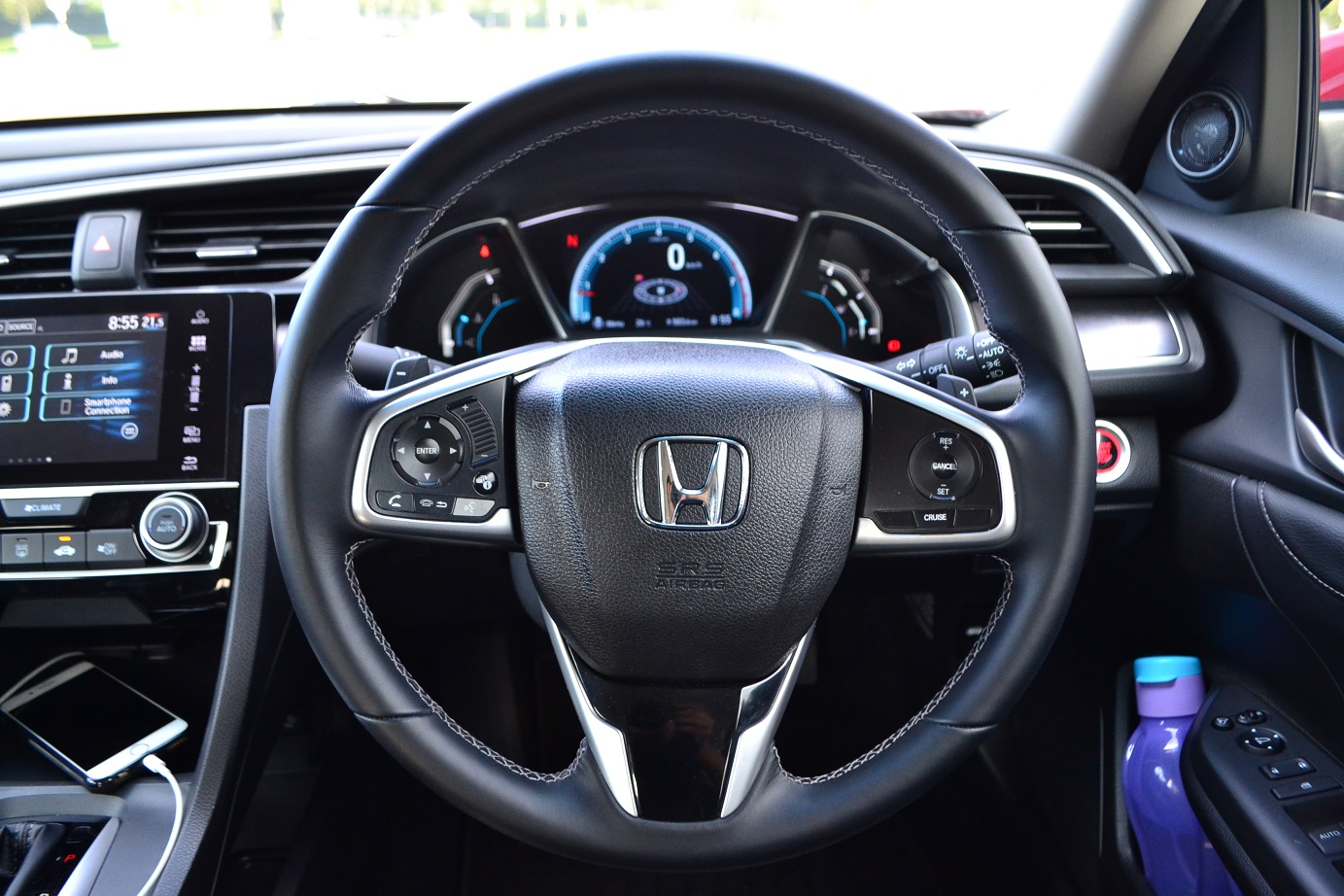 The New Honda Civic Riding Dream Kensomuse Blinker Switch Missing Forum Has Always Been Known To Feature A Futuristic Cabin And Motif Is Carried Over In 10th Gen Build Quality Excellent As It With