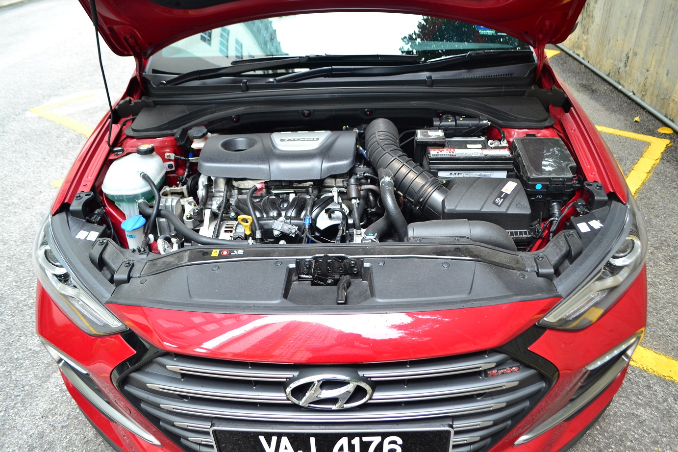 The Hyundai Elantra And Sport Covering All Bases Kensomuse Power Steering Leak Forums Forum To Some Extent Having Two Engine Options For Makes Sense Not Everyone Wants A Rocket Monster Gamma 16 T Gdi That Has Maximum Output