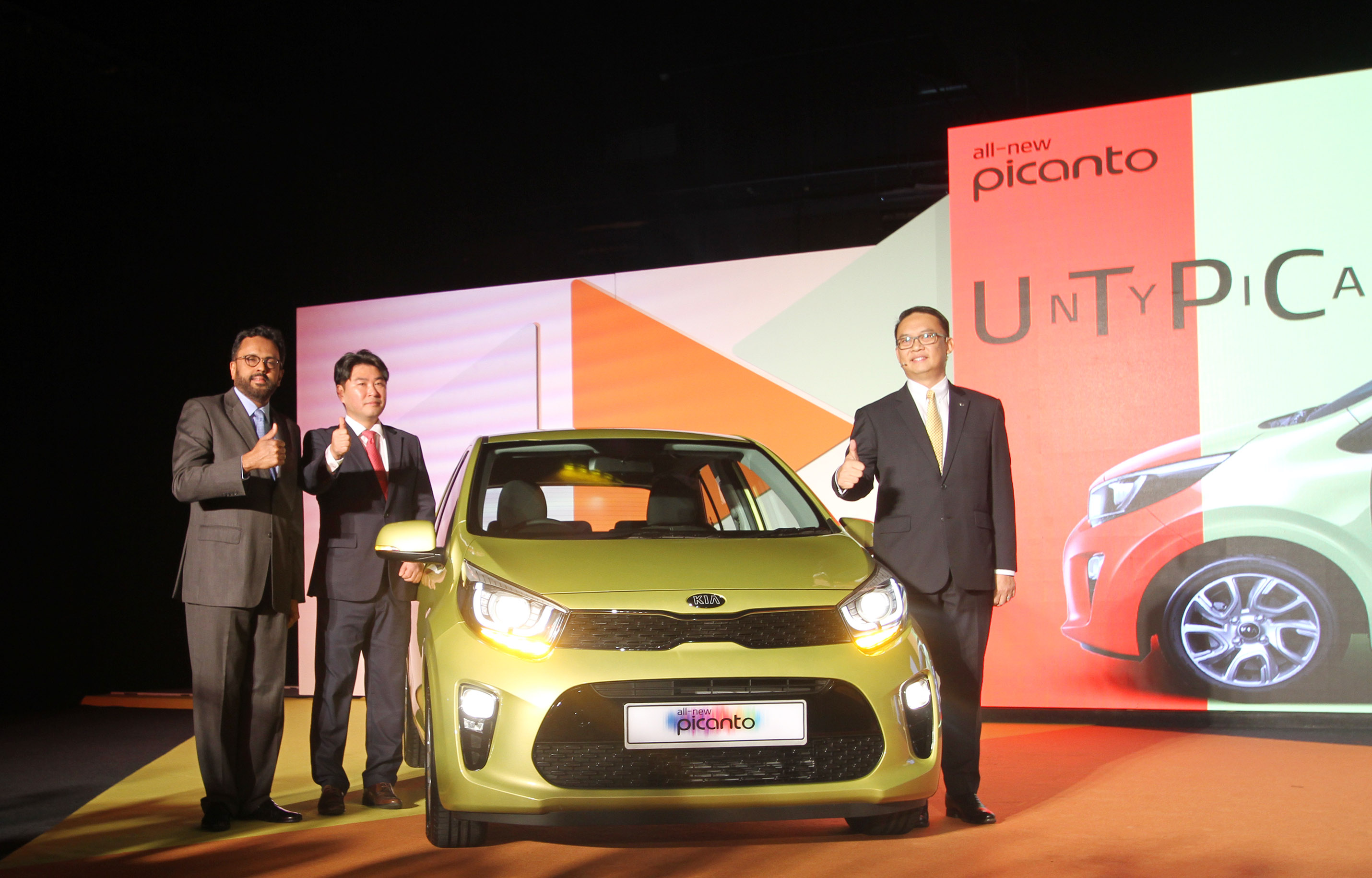 The all new KIA Picanto – launched