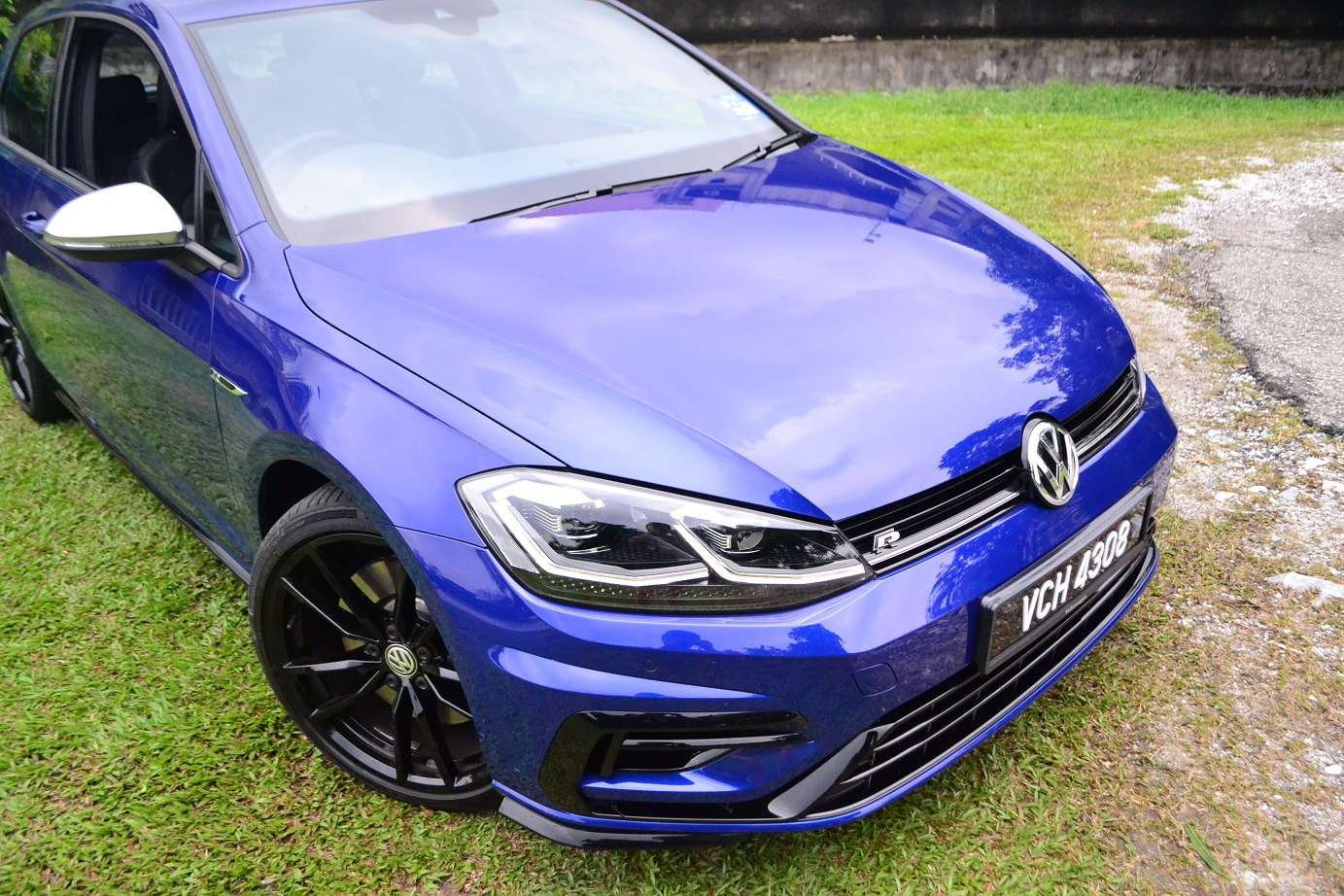 The Volkswagen Golf R - Making life a little bit more