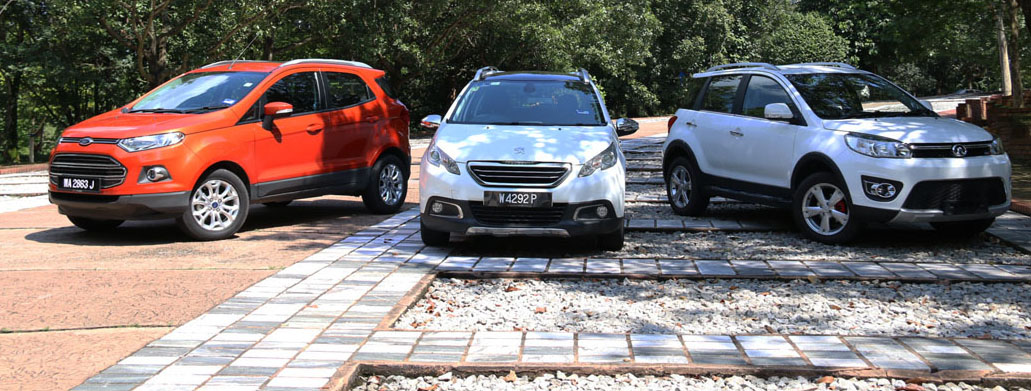 The Malaysian Compact Suv Shootout Ford Ecosport Vs