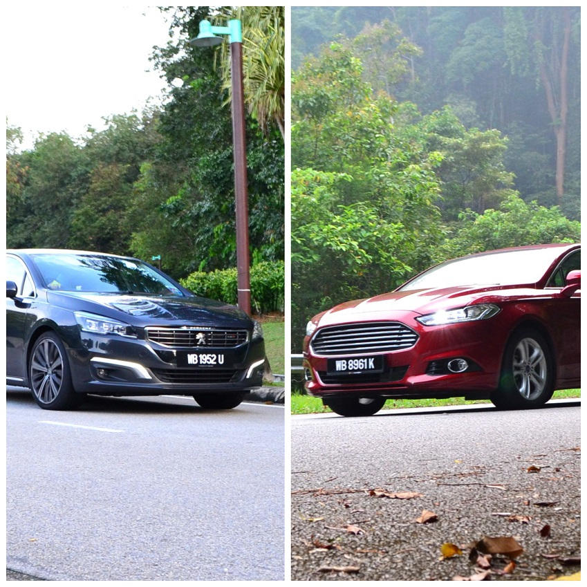 Ford Mondeo Vs Peugeot 508 GT